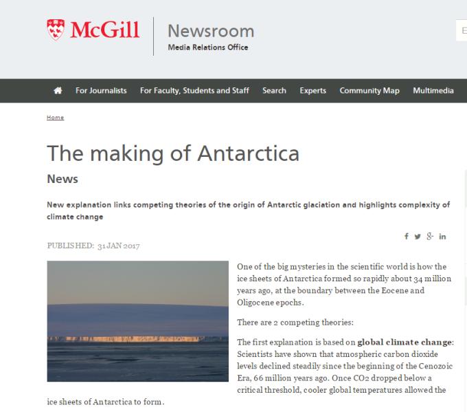antarcticatheory